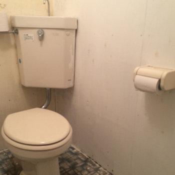 お店にありそうなトイレです。