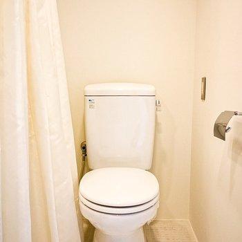 トイレはお風呂と洗面所と共同スペース