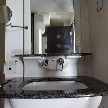 ホテルっぽい洗面台