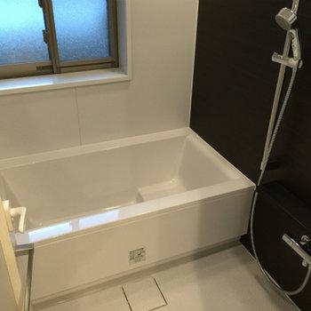 お風呂も窓付き、ビックサイズ