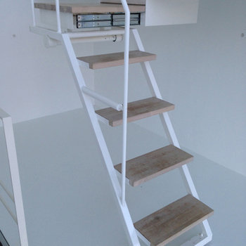 お風呂への階段が・・ ※写真は別部屋です