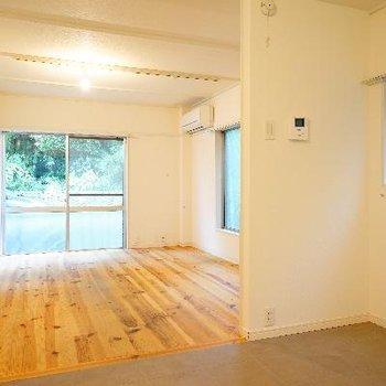 床材を変えて、活用したいスペース♪