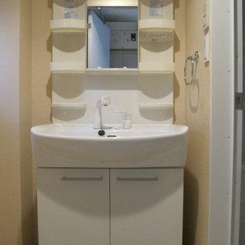 洗面台は大きくて使いやすそう