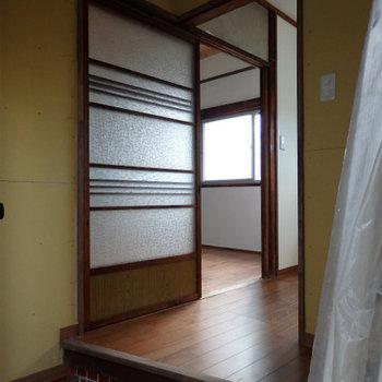 玄関】日本家屋ならではの土間