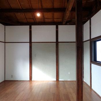 2階】壁の塗装がしてあり、清潔感がばっちり