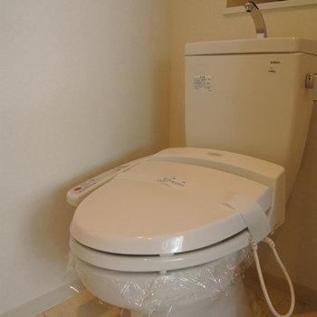 トイレもハイスペック