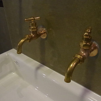 この水栓が可愛くて・・・