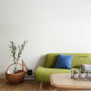 IDEEの家具が似合います。