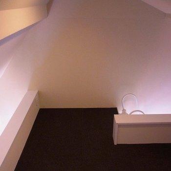 ロフトはカーペットフロアです。※写真は別部屋です