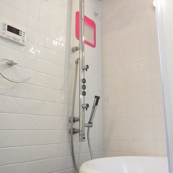 シャワーがかっこいいんですよ※写真は別部屋です