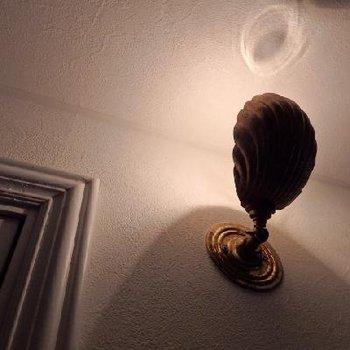 照明の細かいディテールにもコダワリが詰まっています