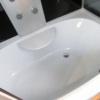 半身浴もできる。