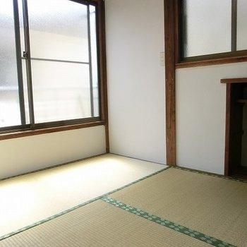 3帖の和室。日本人はやっぱり畳。