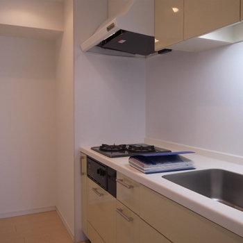 キッチンも独立型で使いやすい※写真は別部屋です。