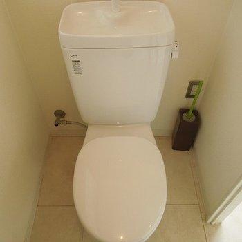 トイレもきれいになりました ※前回募集時の写真です