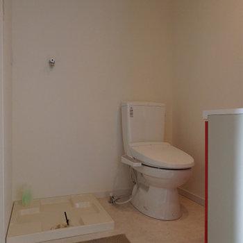 トイレと脱衣所は同室になります