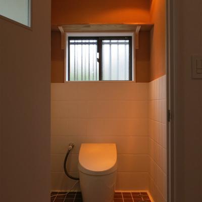 トイレは1、2階にそれぞれあります
