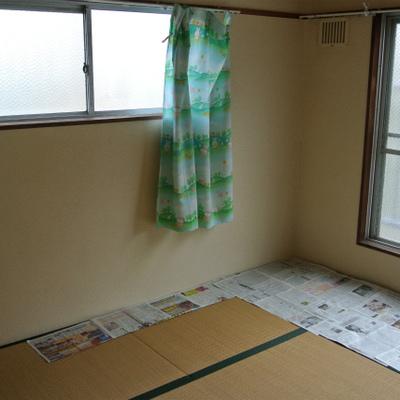 そして角部屋の和室!