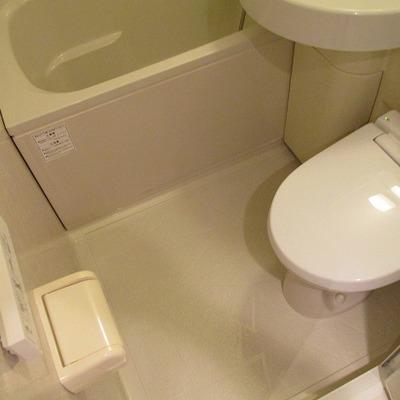 トイレも一緒です。