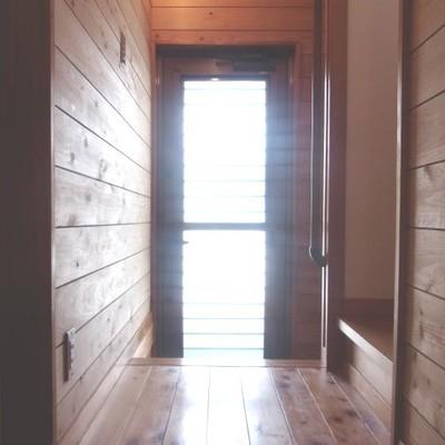 玄関からも光入ります!