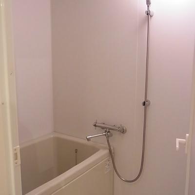 浴室はシンプルです(写真は別室)