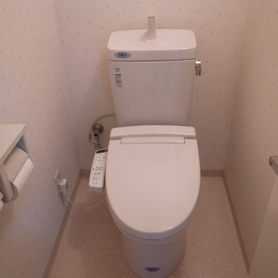 トイレも清潔感あって◎