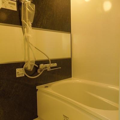 浴室は広めに取ってあります