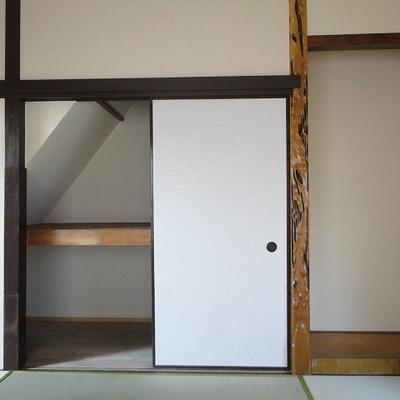 1階和室の収納