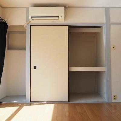 6.5帖のお部屋の収納スペースあり