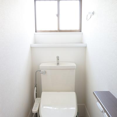 1階のトイレ、ウォシュレットが◎