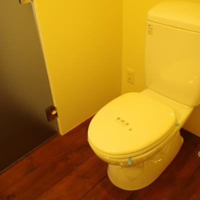 お手洗いはシンプル