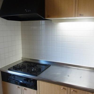 調理スペース。これは広い!