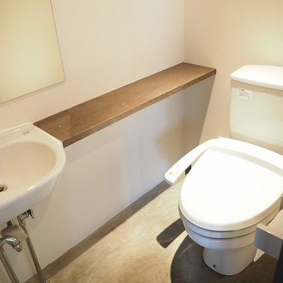 トイレはもちろんありますよ!