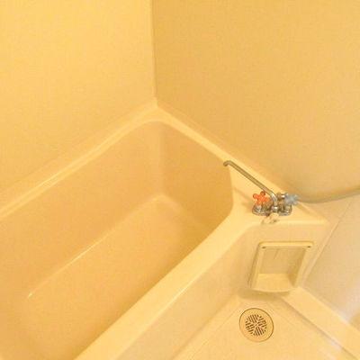 お風呂は既存のままですが清潔感があります