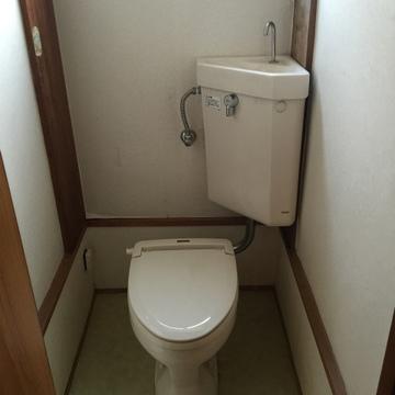 トイレは昔ながらのもの。