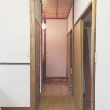 廊下部分。