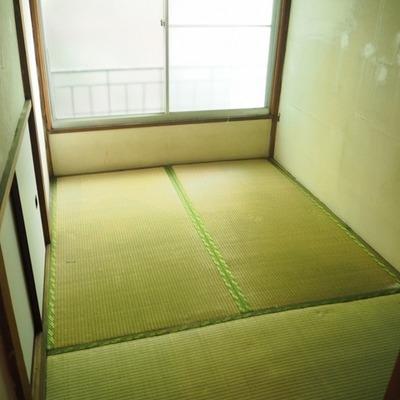 3帖の寝室!は畳です!