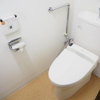 トイレは綺麗!