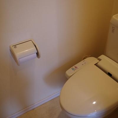 トイレ別です!