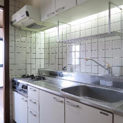 キッチンはゆったりめ。