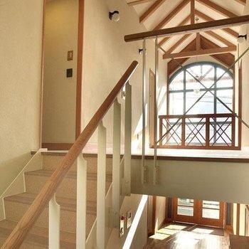 内装も凝ったデザインになっており見るだけで楽しいです。※写真は2階反転間取り別部屋のものです