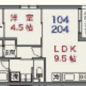 使いやすそうな1LDKのお部屋。