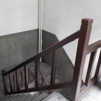 階段で4階!気合で行く!