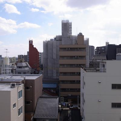 街中ですが、なかなかいい眺めです!
