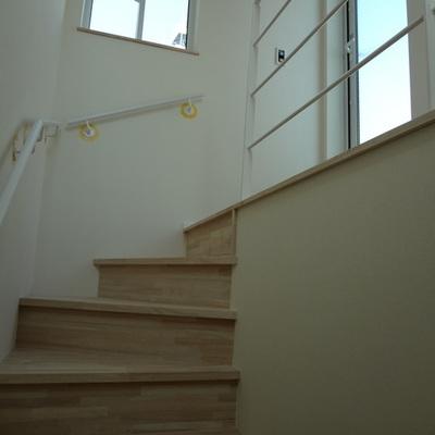 バルコニーへの階段