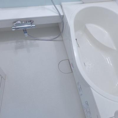 お風呂も広く、清潔感あります!!