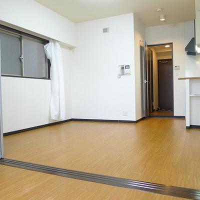 1部屋にすると広々空間です。