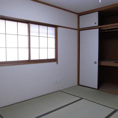 和室。収納もバッチリ
