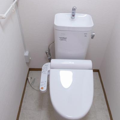 トイレも設備良し