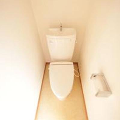 トイレもキレイです。